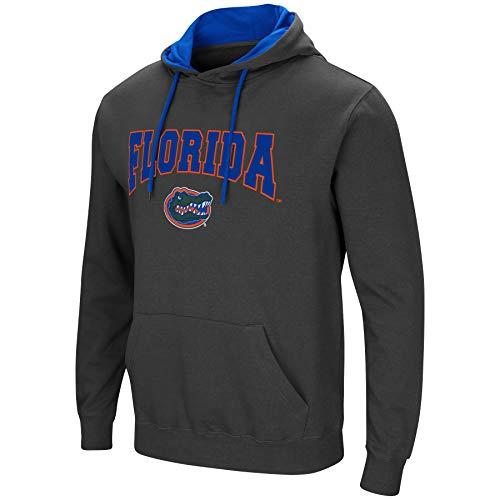- Colosseum Men's NCAA-Scoreboard-Dual Blend-Fleece Hoodie Pullover Sweatshirt-Charcoal-Florida Gators-XXL