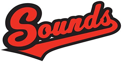 Nashville Sounds MiLB Minor Baseball Sport Art Decor Vinyl Sticker 14'' X 7''