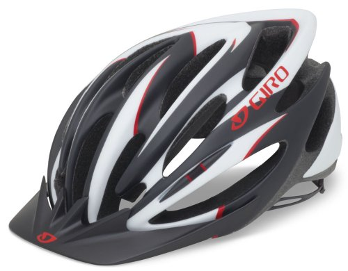 Giro Pneumo Cycling Helmet (Matte Black/Red, Large) For Sale