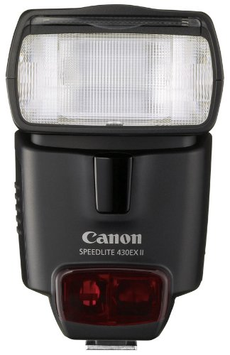 (Canon Speedlite 430EX II Flash for Canon Digital SLR Cameras Bulk Packaging (White Box, New))