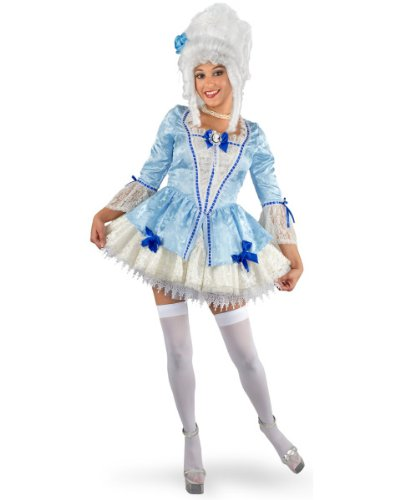Marie Antoinette Costume - Small - Dress Size 5-7 (Marie Antoinette Halloween Costume)