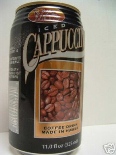 Royal Mills Iced Cappuccino Coffee Drink 12 Cans x 11z