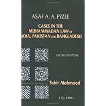 Cases in Muhammadan Law: India, Pakistan and Bangladesh