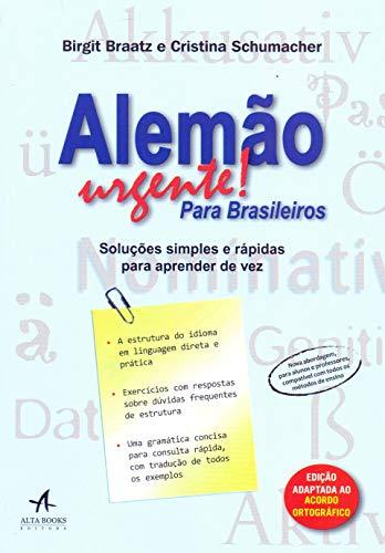 Alemão Urgente! Para Brasileiros