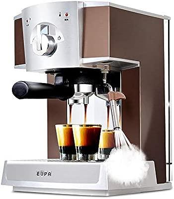 A 15 bar cafetera espresso automática vapor espuma de leche ...