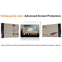 Yellow-price High-end Clear Screen Protector Guard w/ Cleaning Cloth for Blackberry Playbook