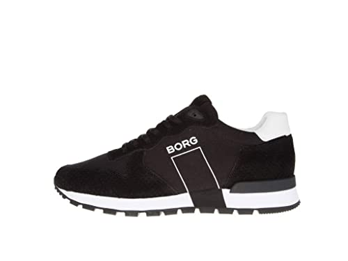 1c3557973d8 Björn Borg R600 Low CVS M Sneakers Heren zwart Size 41 Black: Amazon.co.uk:  Shoes & Bags