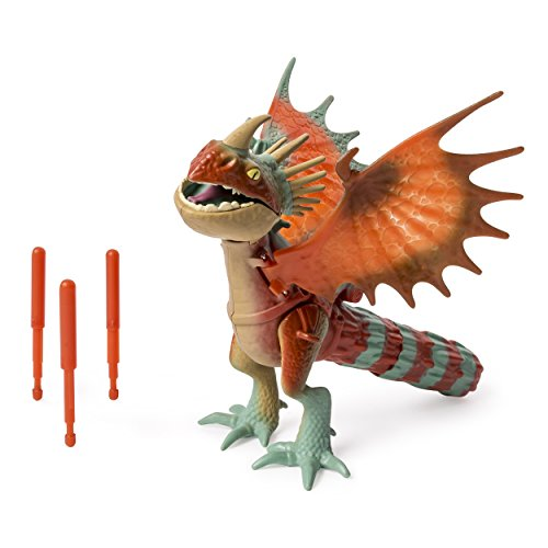 DreamWorks Dragons, Action Dragon Figure, Nadder (Tail Twist Spike Attack) Dragon Toy Store
