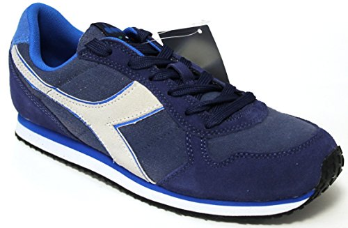 Diadora , Herren Sneaker Blau blu estate media