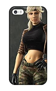 Best-Diy AmandaMichaelFazio case cover Iphone 5/5s protective case cover Mortal QL8mdhQM8Fc Combat Video Game Other
