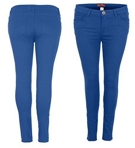 westAce - Jeans - Femme Bleu Roi