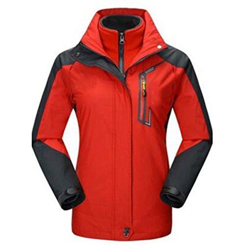 A De De Prueba Caliente Viento Alpinismo Mujer Dos Aire Libre Piezas Al Transpirable De Deportes Red Impermeable Chaquetas xRwHPd8q8