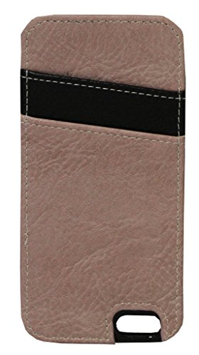 K. Carroll Secure Style RFID Protective Case with Credit Card Sleeve for  iPhone 7 Plus - Pink