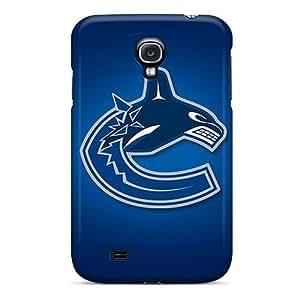KennethKaczmarek Samsung Galaxy S4 Anti-Scratch Hard Phone Cases Support Personal Customs Vivid Vancouver Canucks Skin [hBc15559mipq]