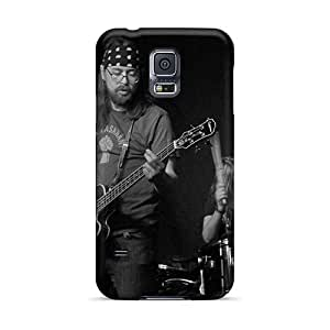 DannyLCHEUNG Samsung Galaxy S5 Shock Absorbent Hard Cell-phone Cases Support Personal Customs Attractive Before The Dawn Band Pattern [feN19736KQfD]