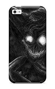 Durable Half She-demon Back Case/cover For Iphone 5c
