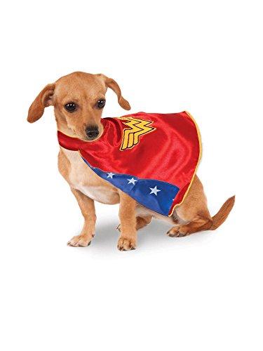 Rubie's DC Comics Wonder Woman Pet Cape, -