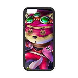 Generic for iPhone 6 Plus 5.5 Inch Cell Phone Case Black Cottontail Teemo Custom HHGHJJOLA4191