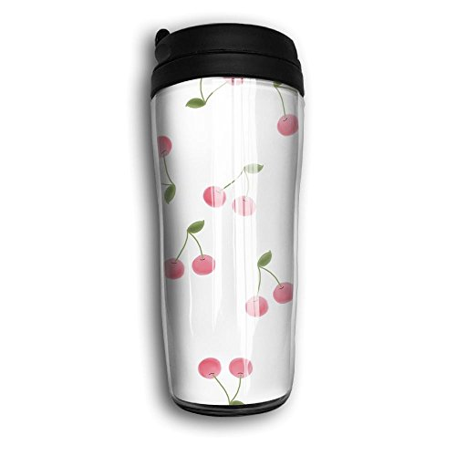 Cerezas Pictuer Travel Mug Coffee Thermos Stainless Steel Flask Water Bottle ()