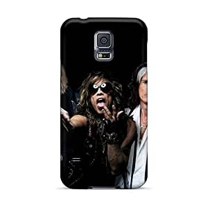 Protective Hard Cell-phone Cases For Samsung Galaxy S5 With Provide Private Custom Beautiful Avenged Sevenfold Band A7X Pattern KennethKaczmarek