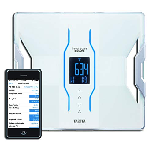 (Tanita RD-953 iPhone and Android Bluetooth Scale)