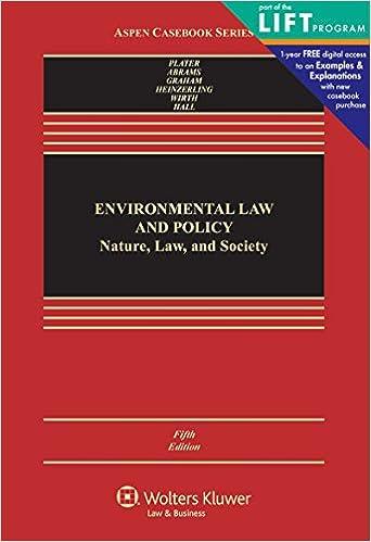 Practicing Environmental Law (University Casebook Series) book pdf