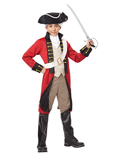 (California Costumes British Redcoat Child Costume,)