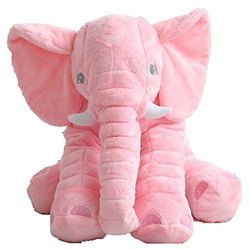 Big Stuffed Elephant Plush Doll Pillows, Baby Super Soft Elephants...