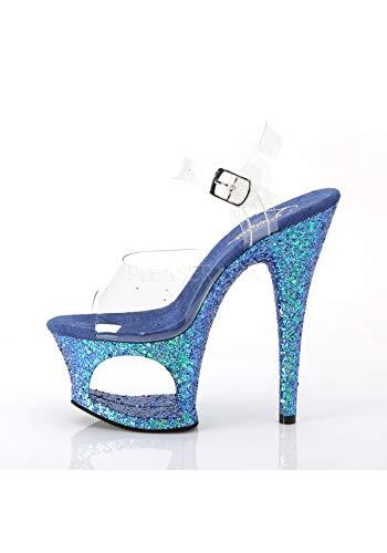 MOON Blue Pleaser 708LG Multi Glitter Clr dqRtwRx1