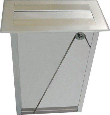 Franke dispensador de toallas de papel en acero inoxidable para el montaje de sub-paneles