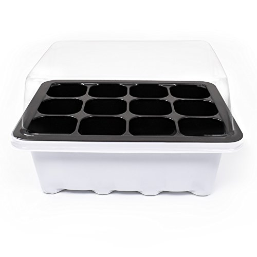 seed starter kit with dome - 1