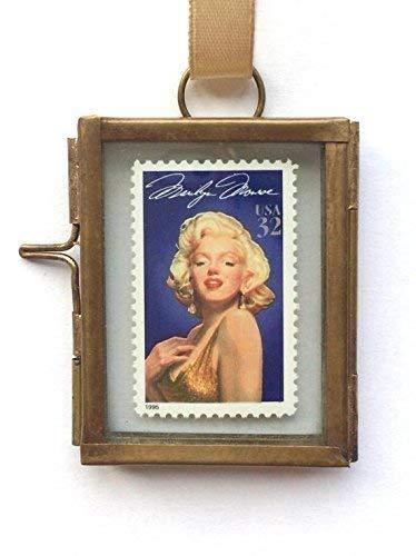 Marilyn Monroe Framed Postage Stamp Keepsake Gift ()