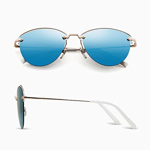 dame conduite Blue polarisée soleil miroir Lunettes de pfqEnEg