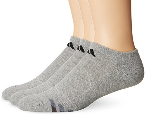adidas-mens-cushion-no-show-socks-pack-of-3-heathered-light-onix-black-granite-tech-grey-one-size