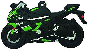 Goma Llavero, diseño de Kawasaki ZX6R: Amazon.es: Coche ...