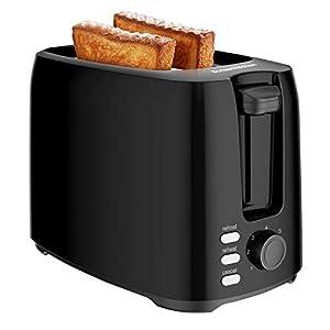 Bonsenkitchen Tostapane 2 Fette, Tostapane per Toast 7 Livelli di Tostatura Vassoio Raccoglibriciole Estraibile… 6