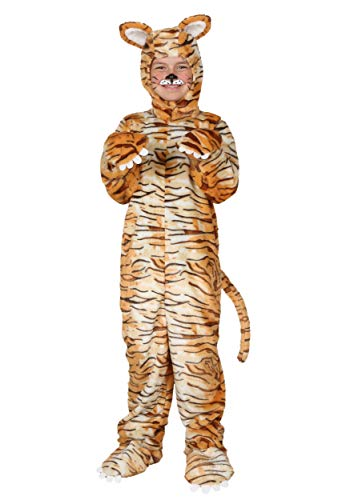 Fun Costumes Child Tiger Microfleece Exclusive Costume ()