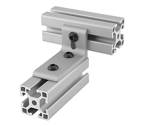 - 80/20 Inc., 40-4280, 40 Series, 3-Hole Slotted Inside Corner Bracket