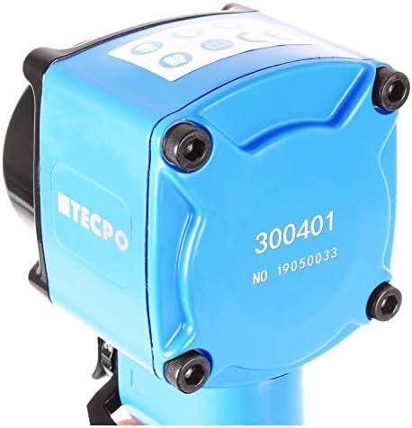 Tecpo Mini Druckluft Schlagschrauber 1 2 Zoll Twin Hammer 790 Nm Druckluftschrauber Gewicht Nur 1 19 Kg Und 95 Mm Breit Baumarkt