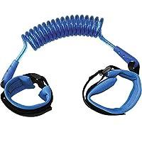 Pulseira Guia Cordão de Segurança para Pulso Criança Azul Buba