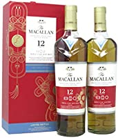 Macallan - Triple Cask Chinese Lunar Year Of The Rat 2020 Twin Pack - 12 year old Whisky