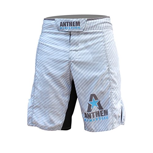 Anthem Athletics RESILIENCE MMA Shorts - White Line Camo - 33""