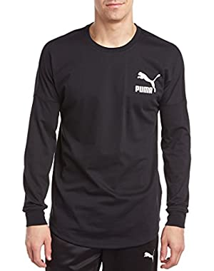 Mens Progressive Long Sleeve Shirt, S, Black