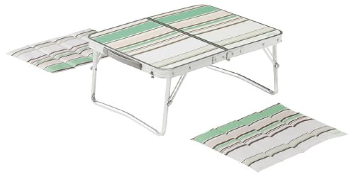 [해외] 콜맨 피크닉 미니 테이블 세트 그린 2000017000