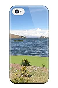 8024582K39061166 4.7Awesome Titicaca Lake Flip Case With Fashion Design For Iphone 6 4.7