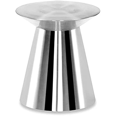 100 Essentials Stainless Steel Cylindrical Side Table