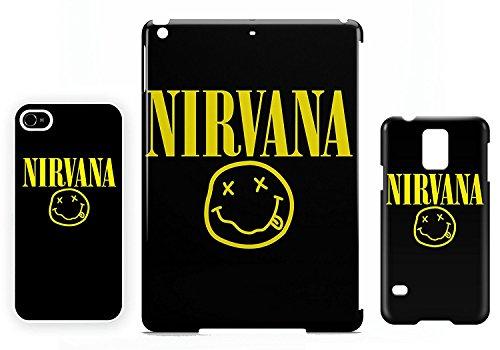 Smiley logo Nirvana iPhone 5 / 5S cellulaire cas coque de téléphone cas, couverture de téléphone portable