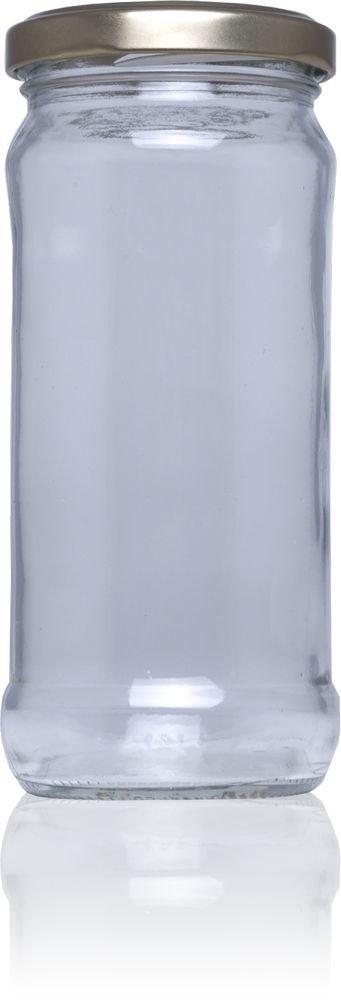 Frasco de vidrio conservas 16 Par 467 ml - Pack 60 u. Tapas Rioja
