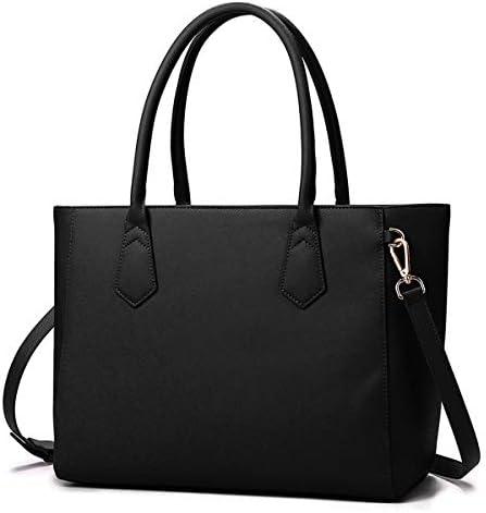Women Occasional Big Capacity Shopping Handbag Solid Shoulder Bag 実用的 (色 : Red)
