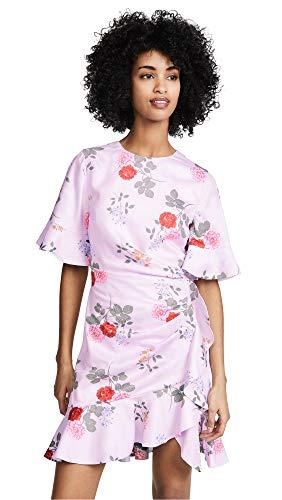 Keepsake Women's Pretty One Mini Dress, Lilac Floral, ()